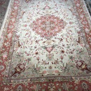فرش دستبافت طرح خطیبی رج40