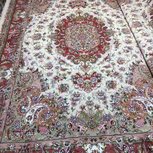 فرش دستبافت جفت شش متری طرح خطیبی